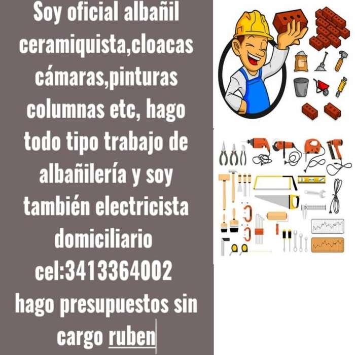 Trabajos de Albañilería Y Electricidad