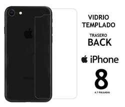 Vidrio Templado Trasero Back Iphone 8 Rosario