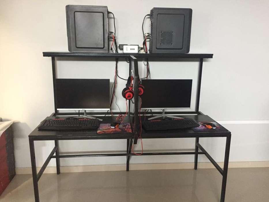 Computadora con módulos