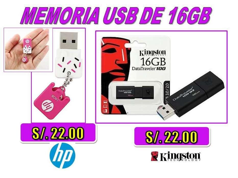 <strong>memoria</strong> USB DE 16GB