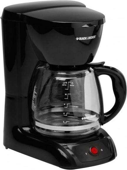 Cafetera blackdecker 12 tazas 1201B