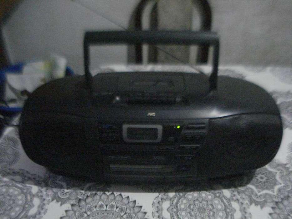 Radiograbador Con Cd Jvc Rc-x540 Bombox Funcionando Excelent