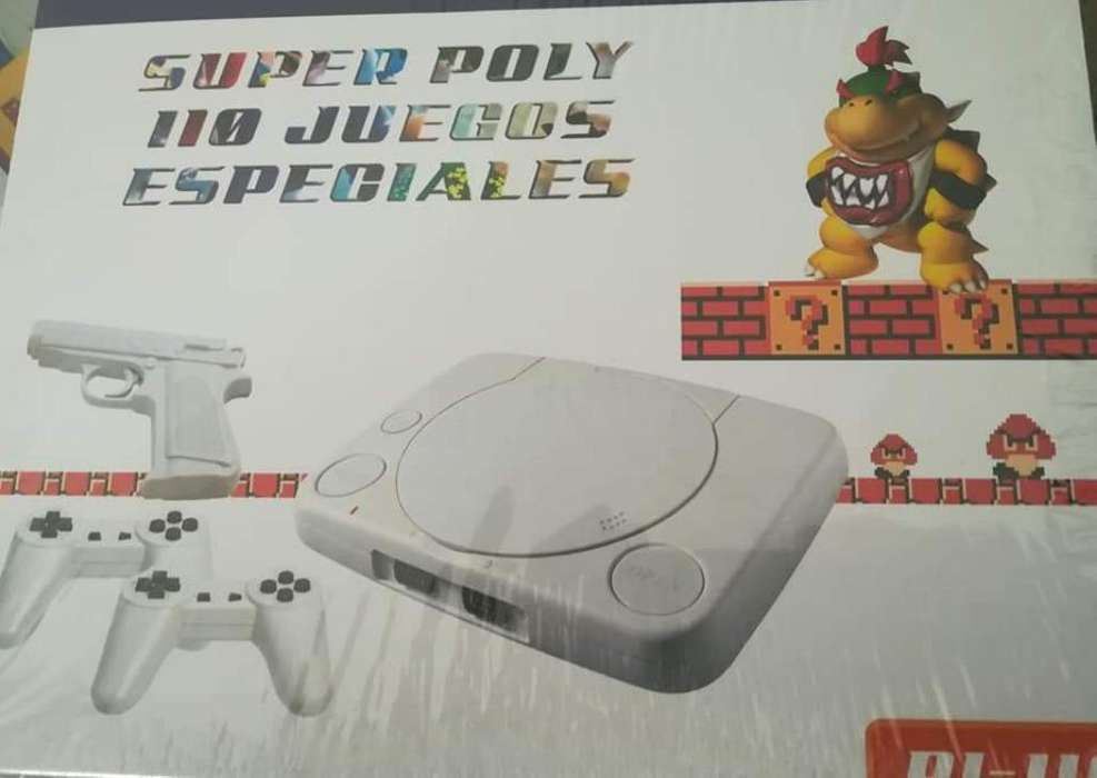 Súper Poly Nintendo 110 Juegos Diferente