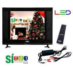 Televisor Led Full Hd Con TDT 17, 19, 22  o 24 Pulgadas, Monitor, Gtía 1 Año, Nuevos, Originales, Garantizados