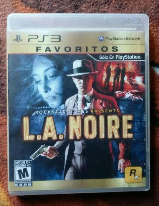Ps3 Juego Play 3 La Noire