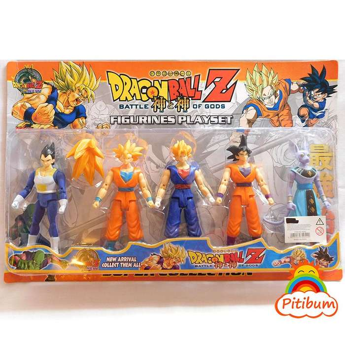 Pack Dragon Ball Z , 5 Muñecos coleccionables!!
