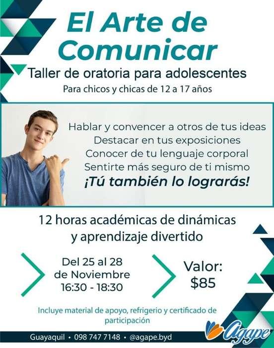 <strong>taller</strong> Oratoria para Adolescentes en Guayaquil