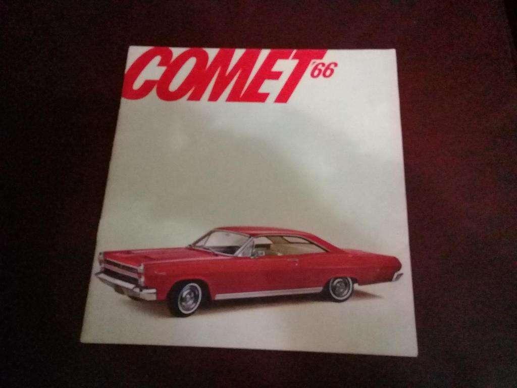 Catalogo Comet 1966
