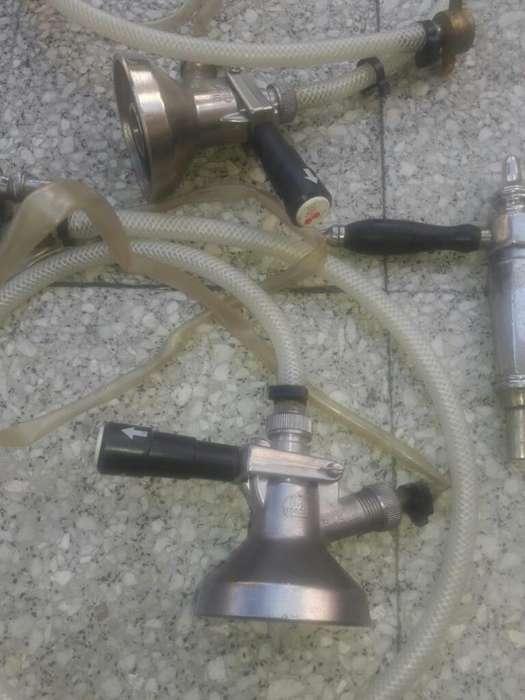 Canillas Chopera Antigua Y 2 Conectores