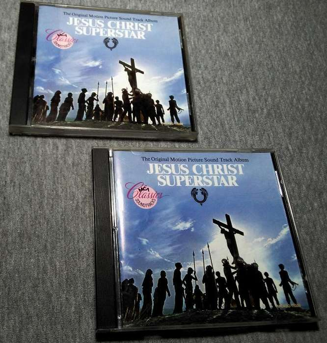 Jesus Christ Superstar versión ORIGINAL en 2 CDs. 1973 Perfecto Estado. Fabricado y comprado en Estados Unidos.