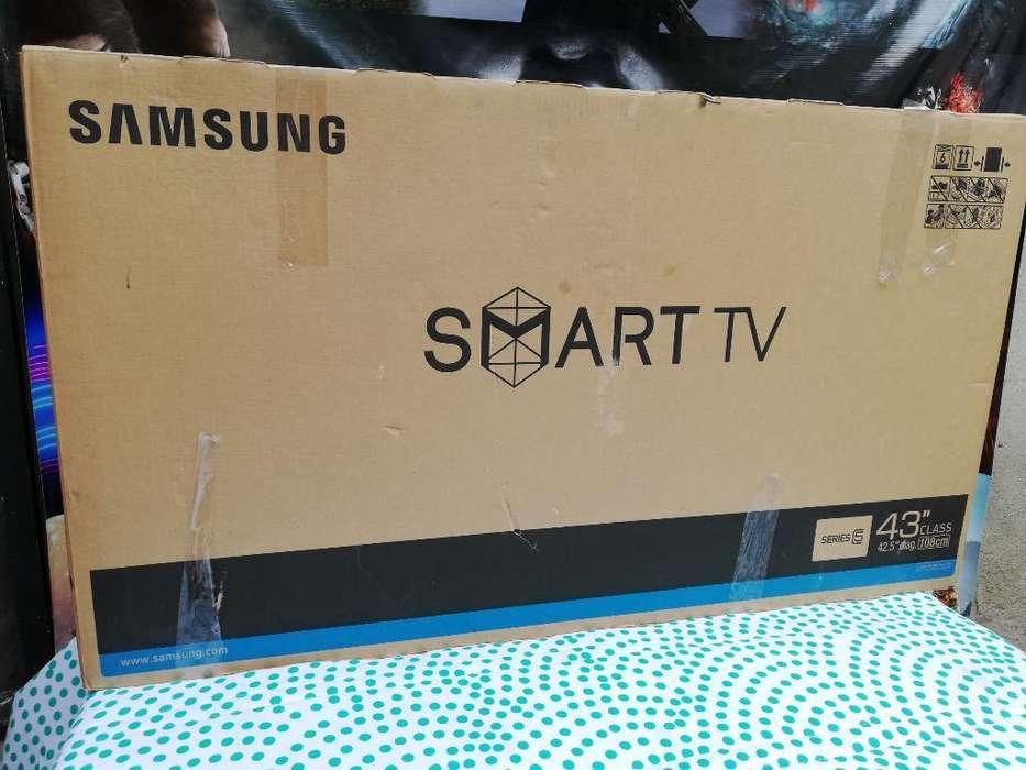 Tv <strong>samsung</strong> Smartv de 43pulg Encajado