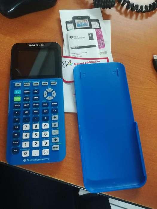 <strong>calculadora</strong> TI (Texas Instrument) 84 PLUS CE-NUEVA S/. 600.00 negociable