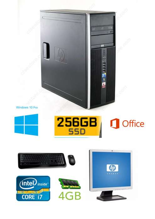 Pc Escritorio Hp Incluye Todo Intel I7