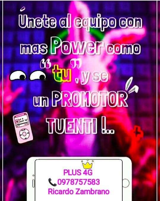 OFERTA DE TRABAJO EN TUENTI PLUS 4G