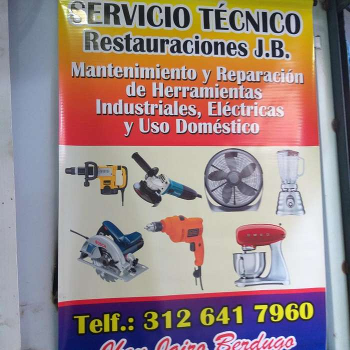 Servicio Tenico Garantizado.