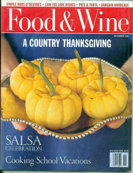 COLECCION DE REVISTAS FOOD WINE EN INGLES