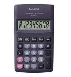 Calculadora de bolsillo CASIO de 8 dígitos HL 815L NUEVA