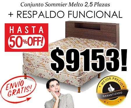 ATENCIÓN MENDOZA! LIQUIDACIÓN DE COLCHONES Y SOMMIERS! ENVÍOS GRATIS! CAMAS <strong>muebles</strong>! PRECIOS Y CALIDAD INMEJORABLE!