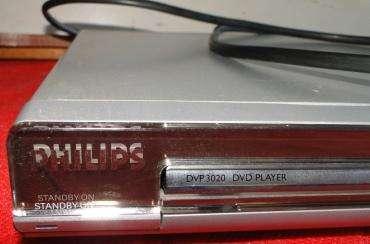 REPRODUCTOR DE DVD PHILIPS CON CONTROL REMOTO MODELO: DVP3020/77