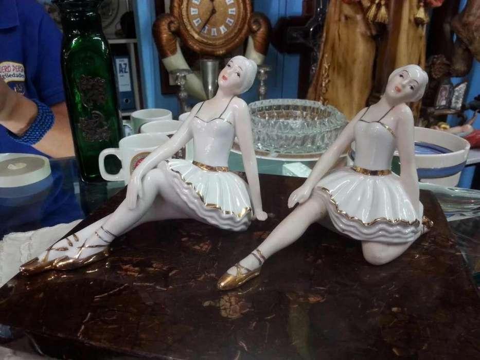Bailarina Antigua Porcelana Made In Spain Montifiero