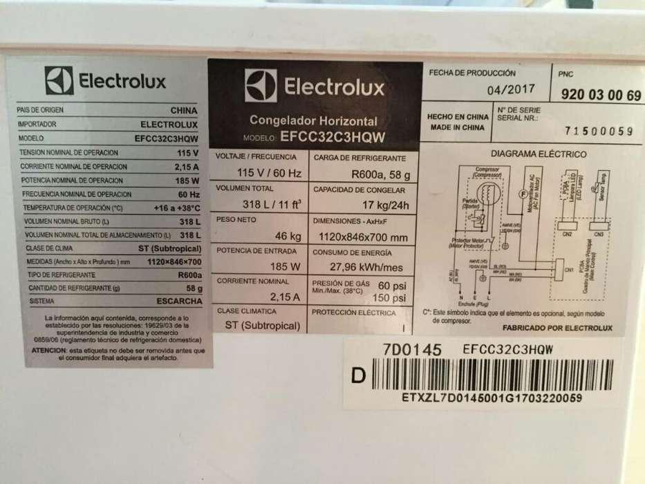 Se Vende Congelador Marca Eletrolux