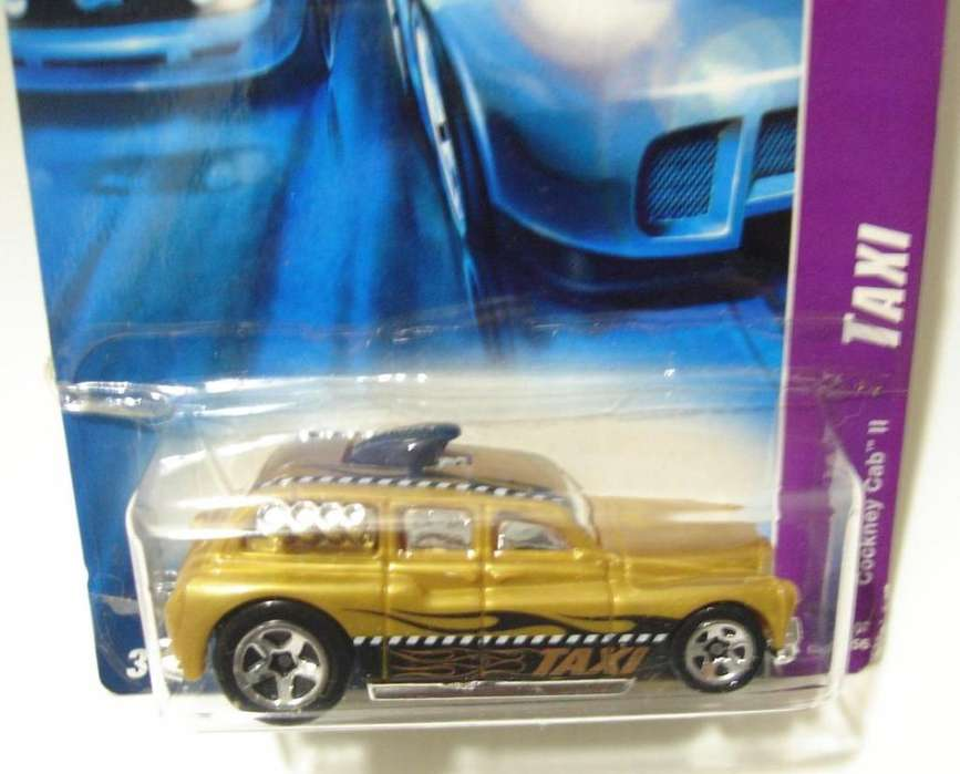 Hot Wheels Serie Taxi Cockney Cab Ii No Envio
