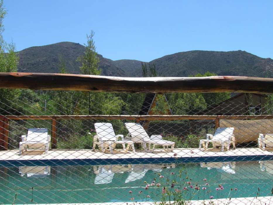 zz12 - Cabaña para 2 a 6 personas con pileta y cochera en Potrerillos