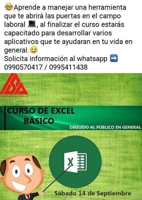 Curso de Excel Basico