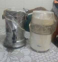 picadora y cafetera