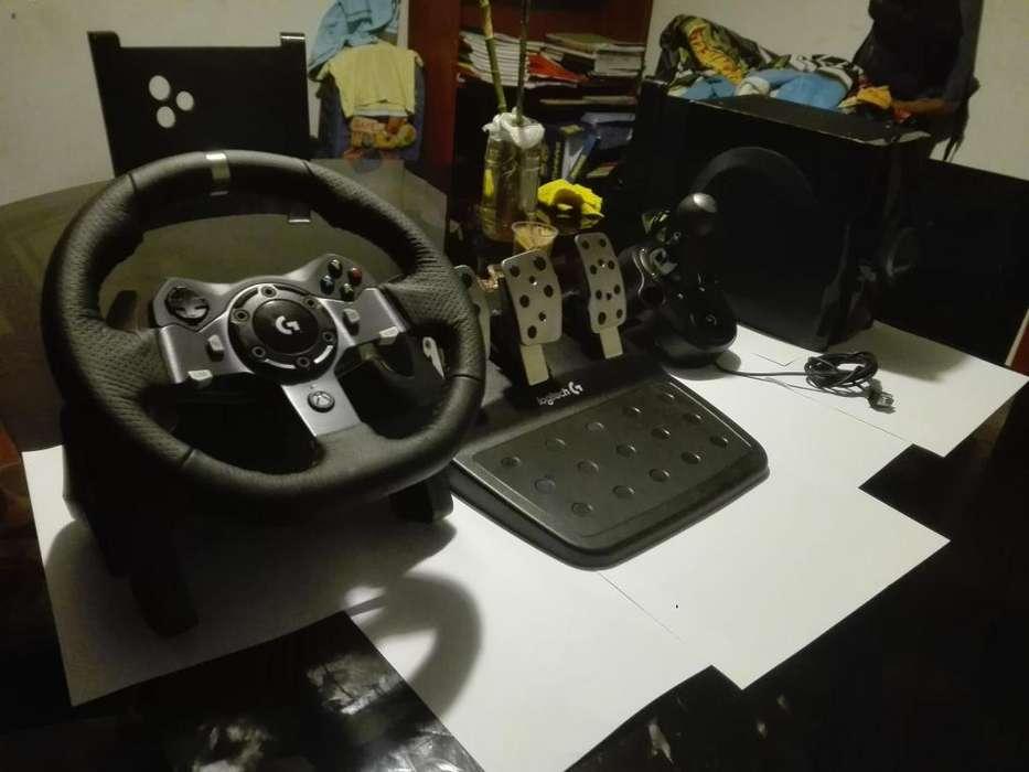 Simulador de auto Logitech G920 Completo Nuevo