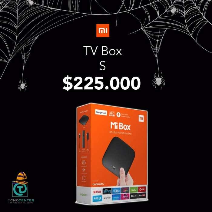 Xiaomi Mi TV Box S, nueva, sellada, garantia, TIENDA FISICA