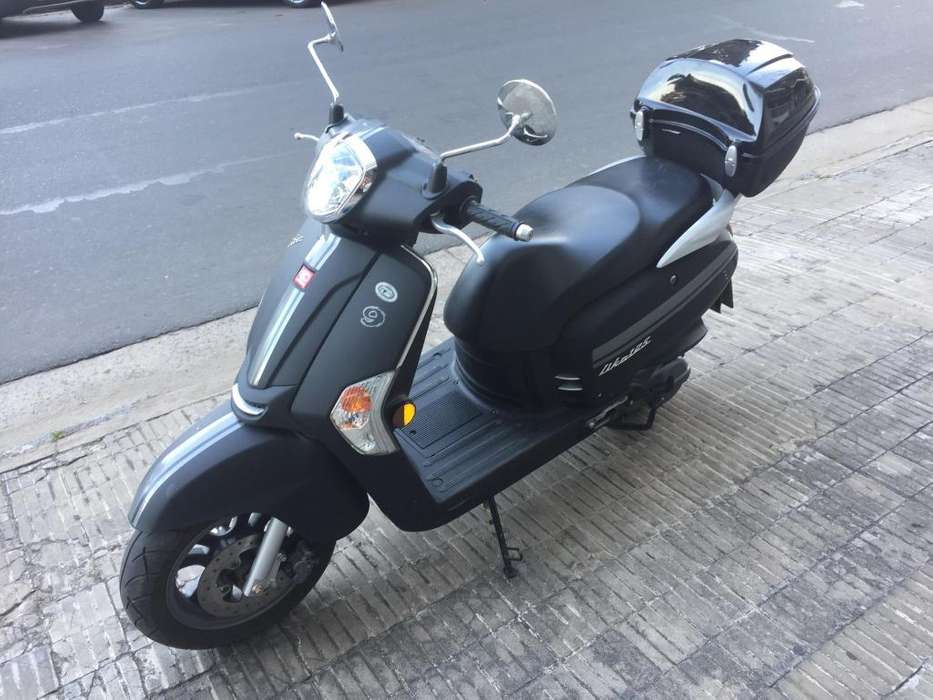 KYMCO Like 125 2019 Negra mate unica