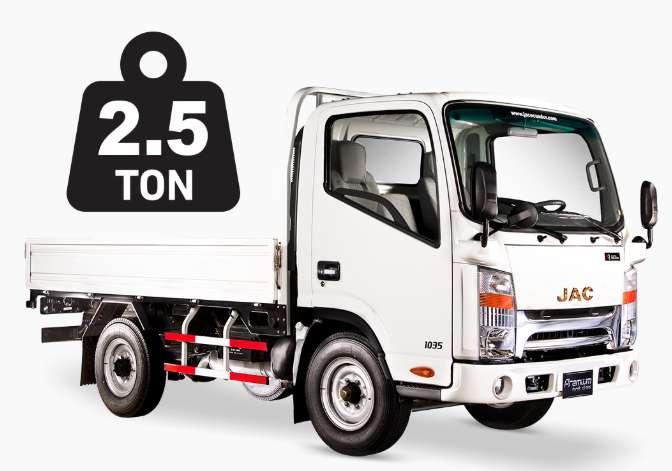 Camión JAC urban premium de carga