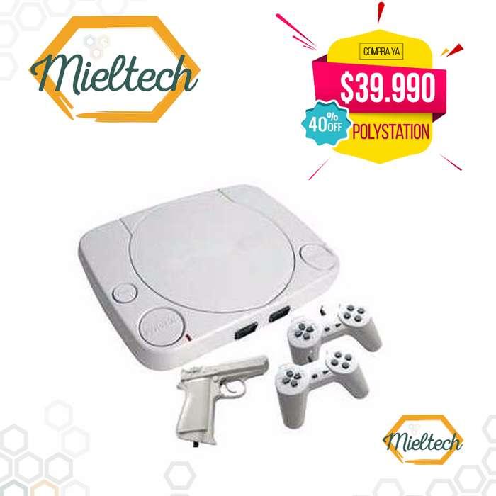 Consola Video Juego polystation De 1000 juegos Incorporados clasico Nes Nintendo mario bros