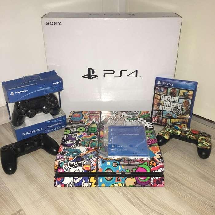 Playstation 4 3 Joysticks Gta V