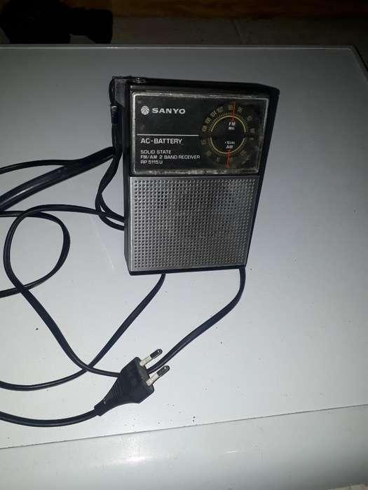 Radio a Pilas Y Corriente