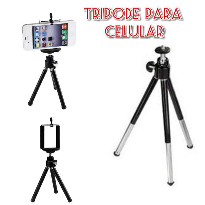 Tripode para <strong>celular</strong>