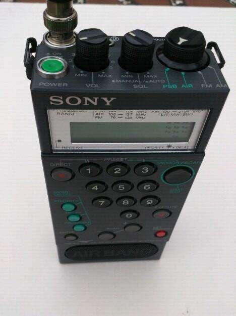 Radio Sony Multibandas Made In Japón
