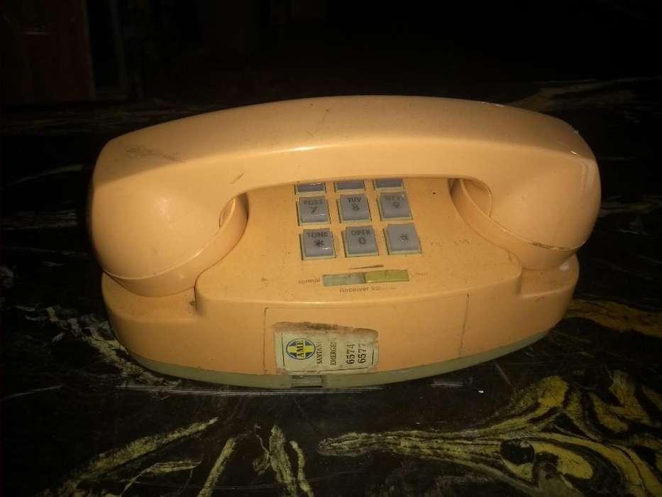 Teléfono Años 70 Retro Vintage
