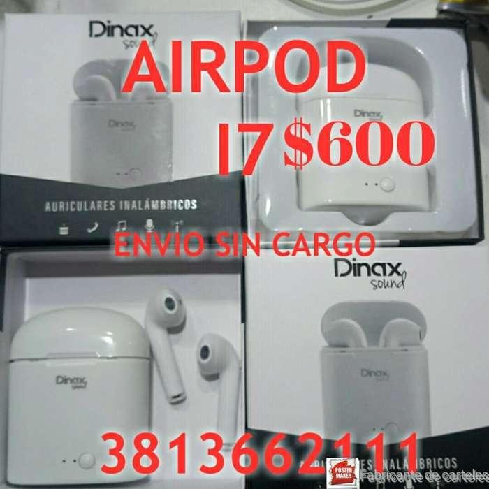 Auriculares Airpod Bluetooth Exc Calidad
