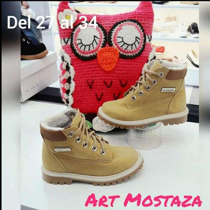 Borcegos Art Mostaza