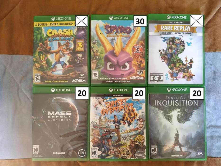Juegos De Xbox One En Excelente Estado