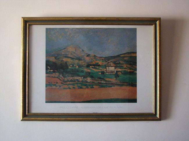 Cuadro con Lámina de Paul Cezanne