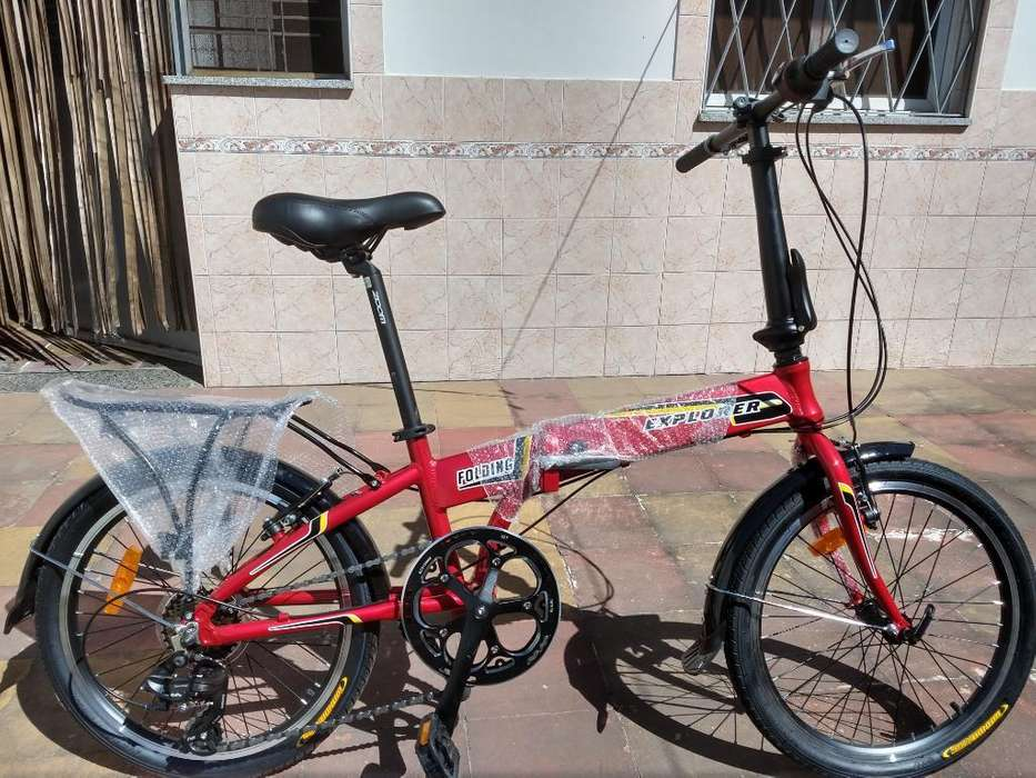 Bicicleta Explorer Folding Plegable