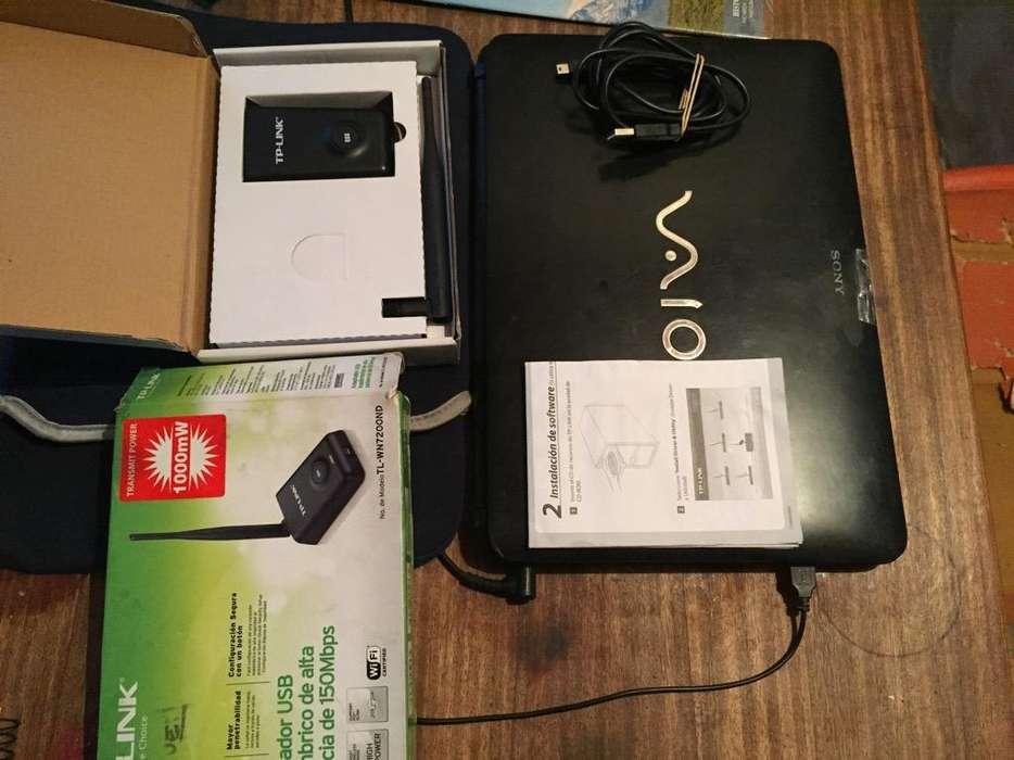 Computadora Sony Vaio Y Adaptador