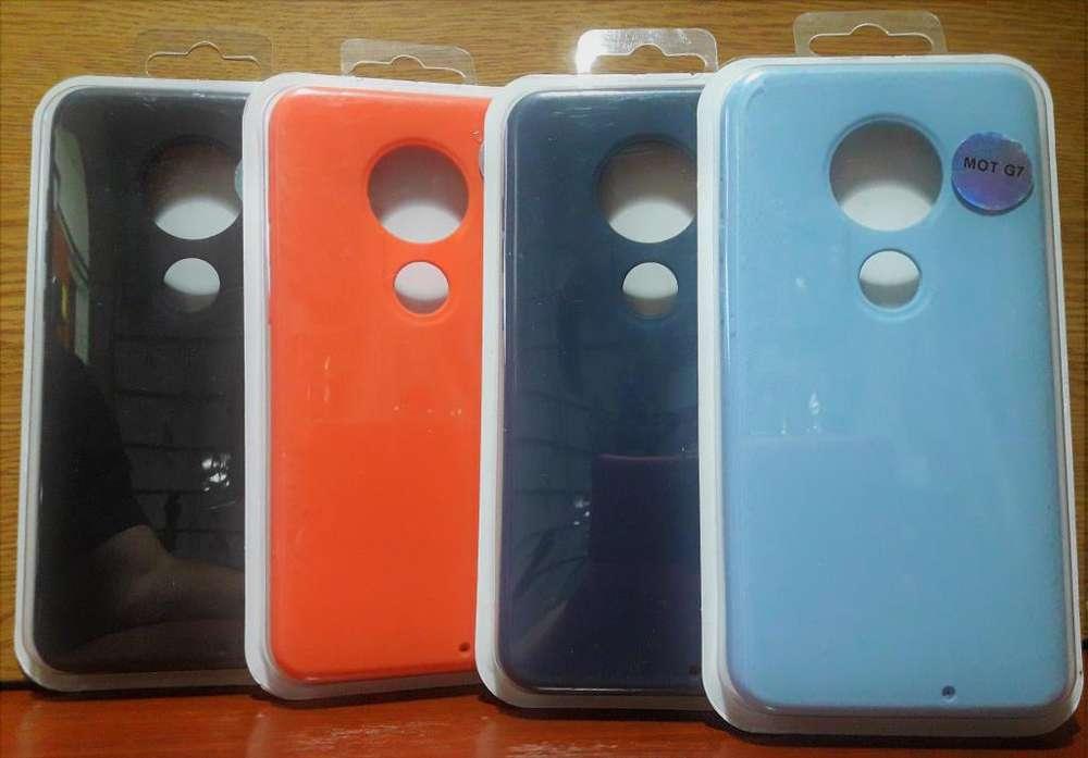 Funda antigilpes siliconada TPU SOFT Moto Motorola G7