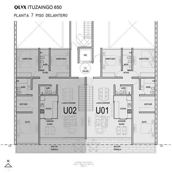 Al pozo - Ituzaingo 650. Edificio con deptos monoambiente, 1, 2 y 3 dormitorios. Amenities. Financiación.