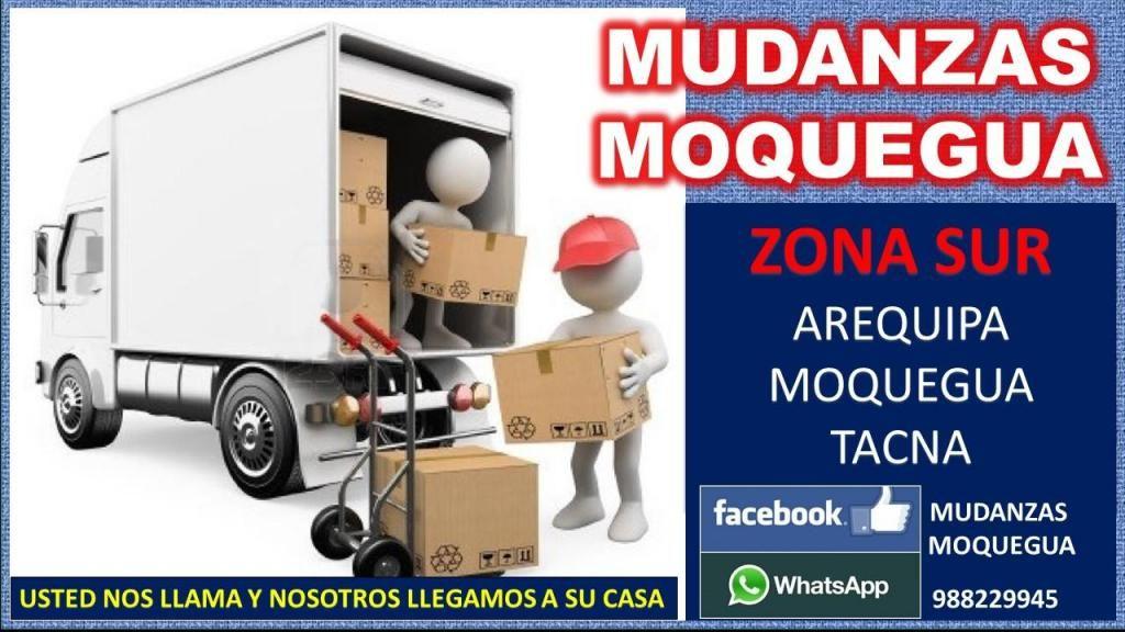 MUDANZAS MOQUEGUA 24 HORAS