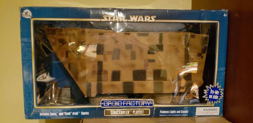 Star Wars Disney Park Sandcrawler Nuevo