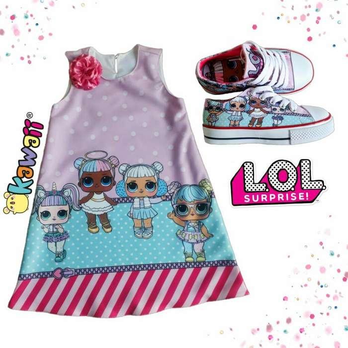 Batica Y Zapatos Personalizados Lol